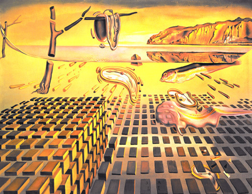 an analysis of salvador dalis painting the persistence of memory