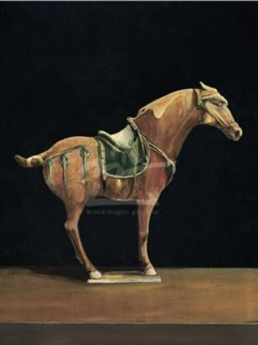 Asian Equus I by Hampton Hall