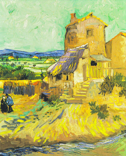 The Old Mill, 1888 by Vincent Van Gogh