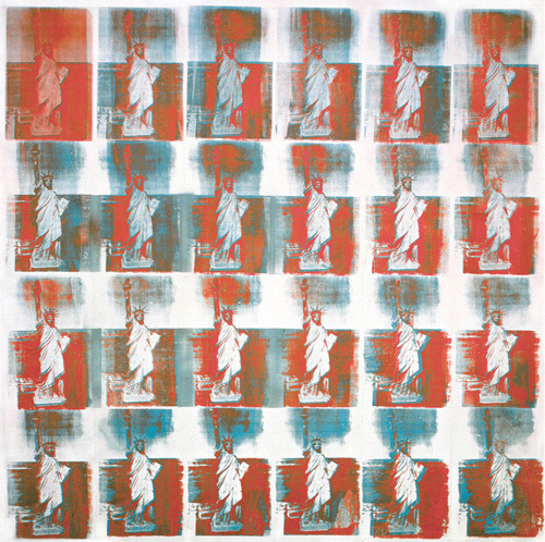 Statue of Liberty, 1963 by Andy Warhol