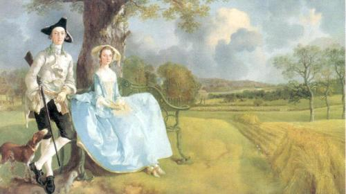 Mr and Mrs. Andrews, about 1750 by Thomas Gainsborough