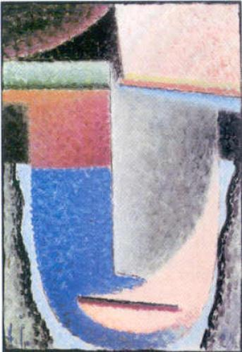 Abstract Head, 1929 by Alexei Von Jawlensky
