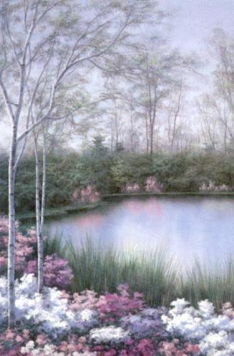 Springtime Melody I by Diane Romanello