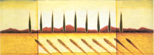 Italian Cypress by Peter Emmerich