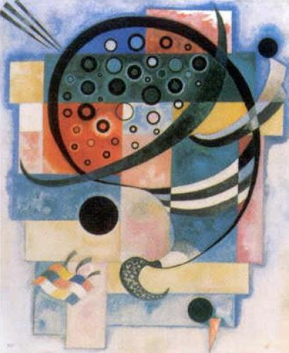 Fixed,1935 by Wassily Kandinsky