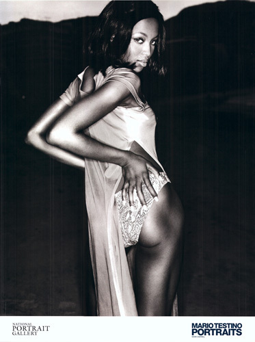 Naomi Campbell by Mario Testino