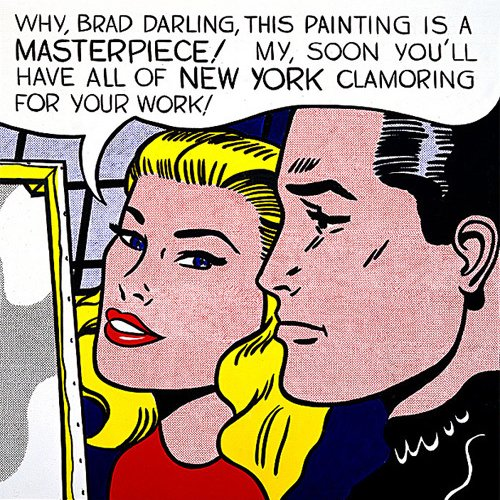 Masterpiece, 1962 by Roy Lichtenstein