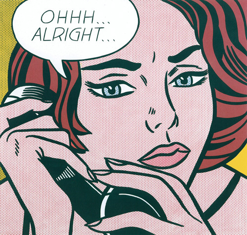 Ohh...Alright... by Roy Lichtenstein