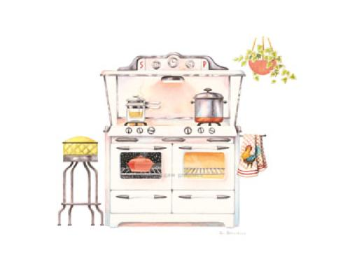 Cooking' with chrome by Lisa Danielle
