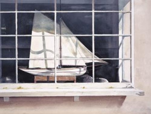 Window by the sea by Michael Felmingham