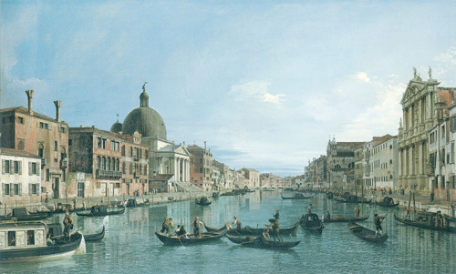 Grand Canal by Giovanni Canaletto
