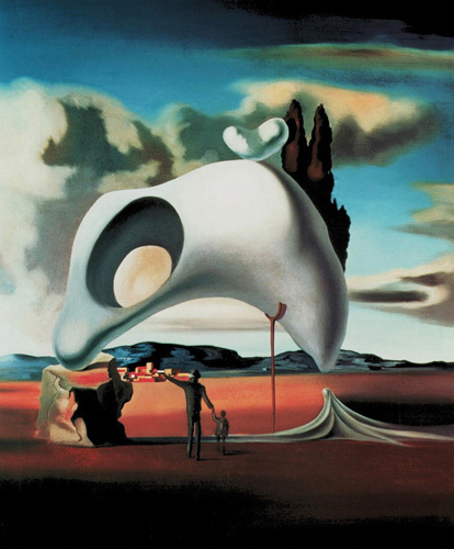 Atavistic Vestiges After the Rain, 1934 by Salvador Dali