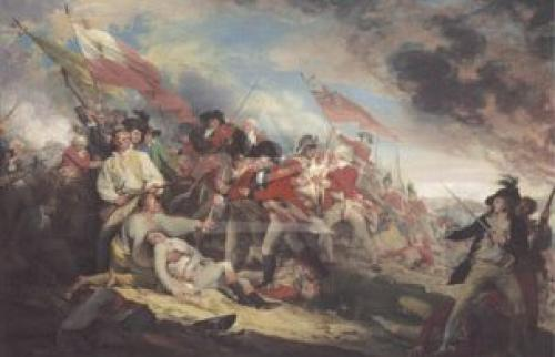 Death of General Warren at the Battle of Bunke by John Trumbull