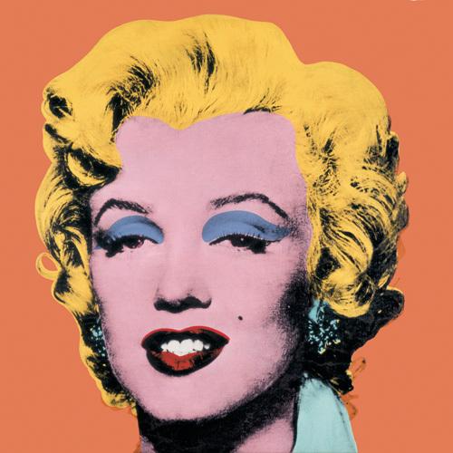 Shot Orange Marilyn, 1964 by Andy Warhol