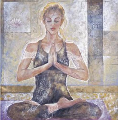 Yogi I by Marta Wiley
