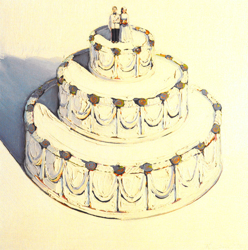 Wedding Cake, 1962 by Wayne Thiebaud