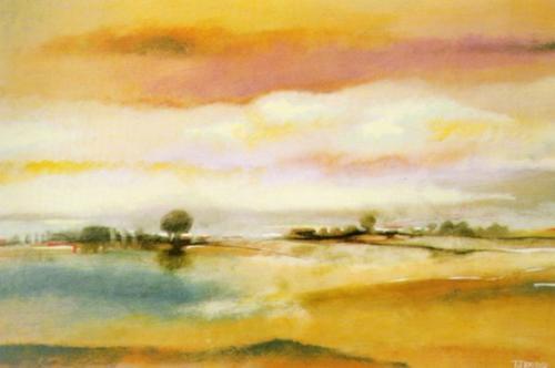Rolling Hills I by T.J. Bridge
