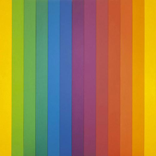 Spectrum IV by Ellsworth Kelly