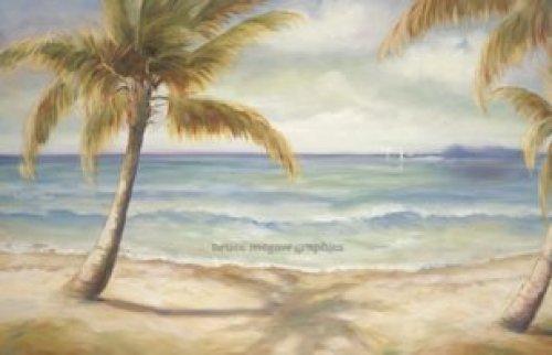 Shoreline Palms II by Marc Lucien