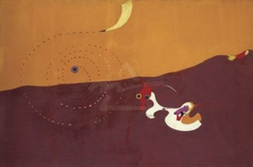 Landscape (The Hare), Autumn 1927 by Joan Miro