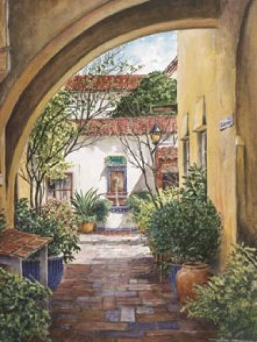 Hacienda Hideaway by William Mangum
