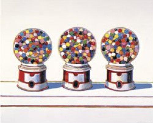 Three Machines, 1963 by Wayne Thiebaud