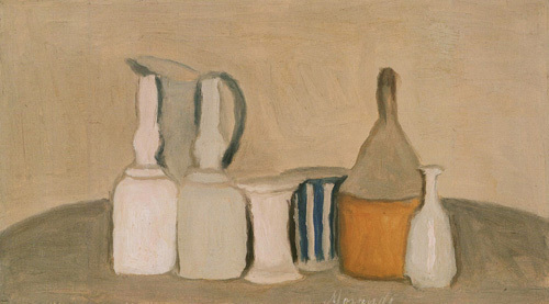 Still Life of Bottles and Pitcher, 1946 by Giorgio Morandi