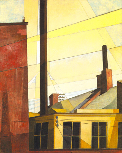 From the Garden of the Chateau, 1925 by Charles Demuth