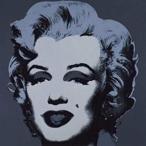 Marilyn Monroe (Marilyn), 1967 (black) by Andy Warhol