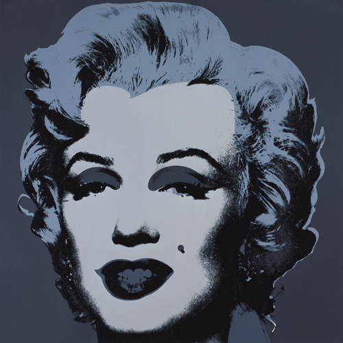 Marilyn Monroe (Marilyn), 1967 (black) by Andy Warhol