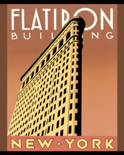 Flatiron Building by Brian James