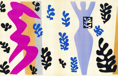 The Knife Thrower, plate XV from Jazz, 1943 by Henri Matisse