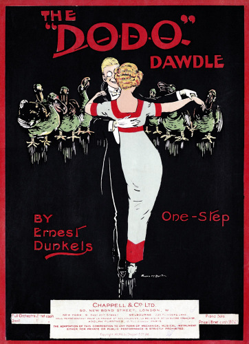 Score cover for 'The Dodo Dawdle'. Sheet music. One step by Ernest Dunkels by Anonymous