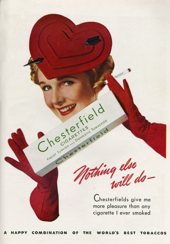 Stylish Chesterfield advert by Anonymous