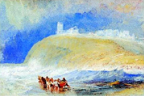 Dunwich, Suffolk by Joseph Mallord William Turner