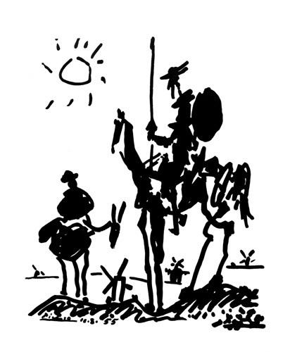 Don Quixote by Pablo Picasso