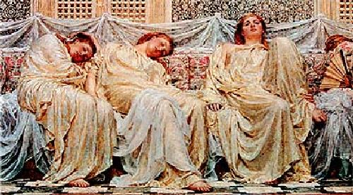 Dreamers by Albert Moore