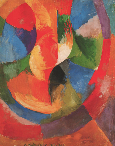 Formes Circulaires-Soleil No 3 by Robert Delaunay