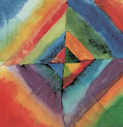Colour Study by Wassily Kandinsky
