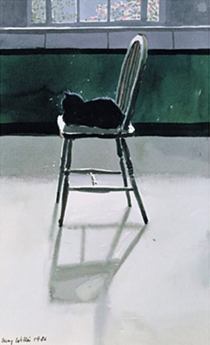 Cat on a Chair by Lucy Willis
