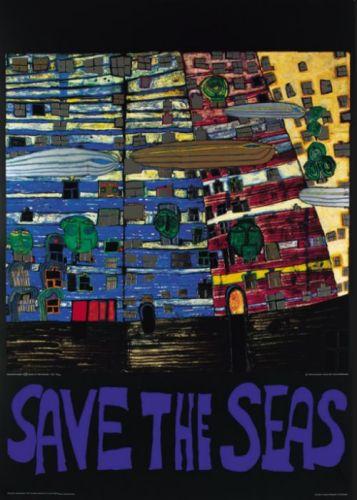 Save the Seas by Friedensreich Hundertwasser
