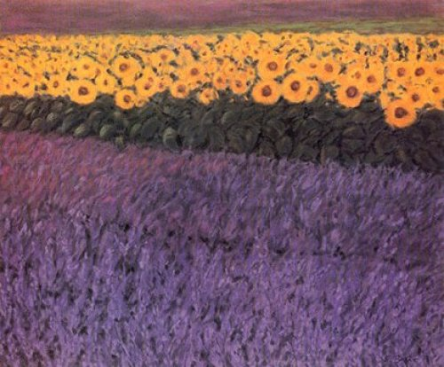 Sonnenblumen by Eleonore Baur-Brinkman