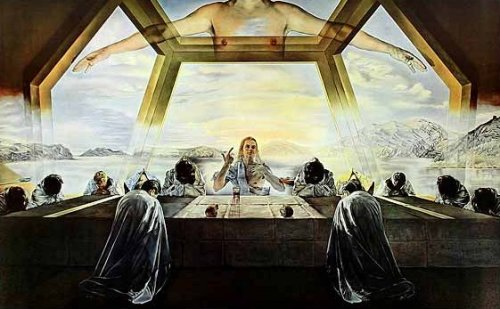 The Last Supper by Salvador Dali