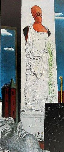 Die endlose Reise by Giorgio de Chirico