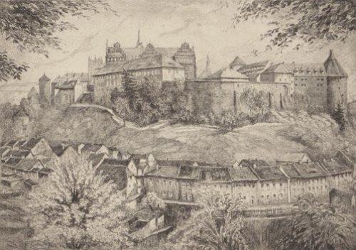Bautzen, Ortenburg by Fischer-Lenz