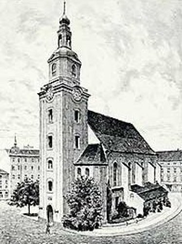 Forst, Nikolaikirche by Bruck