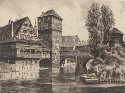 Nürnberg, Henkersteg by Bruck