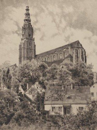 Schweidnitz, Pfarrkirche by Bruck