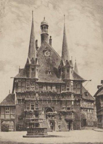 Wernigerode, Rathaus by Bruck