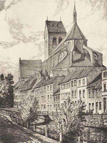 Wismar, Nicolaikirche by Eichler